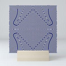 Waves on the sea Mini Art Print