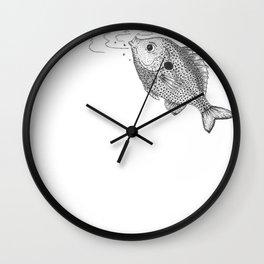Little Bluegill Wall Clock