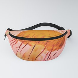 Pink Jellyfish Fanny Pack