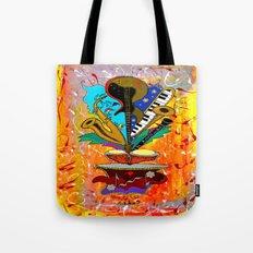 Jazz Me Up Tote Bag