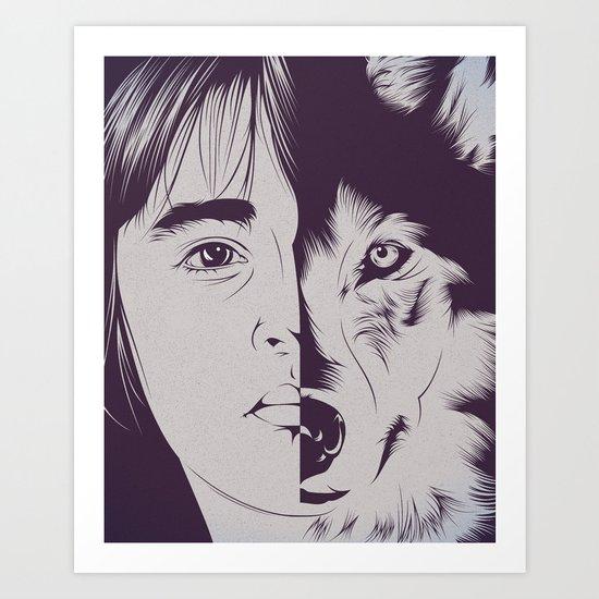 B.S. Art Print