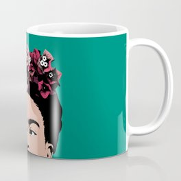 Floral Frida Coffee Mug