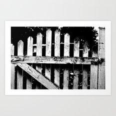 gate Art Print