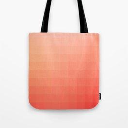 Lumen, Coral and Pink Glow Tote Bag