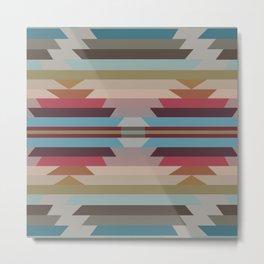 American Native Pattern No. 219 Metal Print