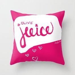Olive Juice Throw Pillow