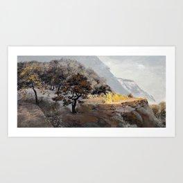 Fruit Trees Art Print