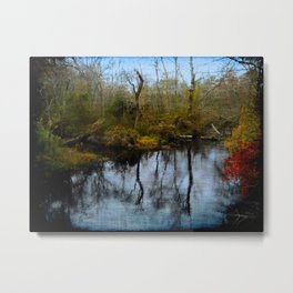 The Fork Metal Print