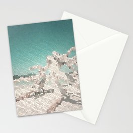 White Haven Beach (Low Poly) Stationery Cards