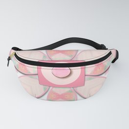 Buttons and Bows Flower 2 Fanny Pack