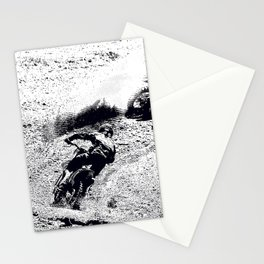 The Chase is On - Motocross Racers Stationery Cards