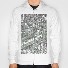 The Town of Train 1 Hoody
