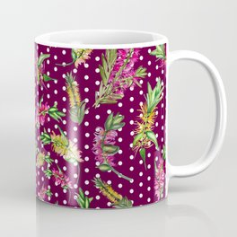 Australian Native Watercolour Flower Coffee Mug
