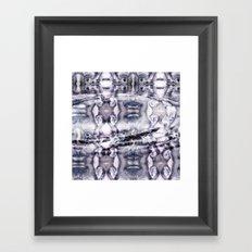 Yesterday is Gone Framed Art Print