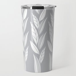 Eternity in Silver Leaf Travel Mug