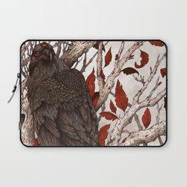 A Raven In Winter Laptop Sleeve
