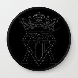 King Crown (WHITE) Wall Clock