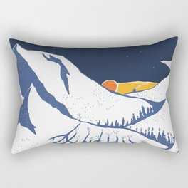 Mountain mysteries Rectangular Pillow