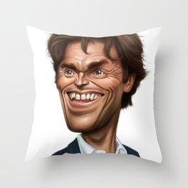 Willem Dafoe Throw Pillow
