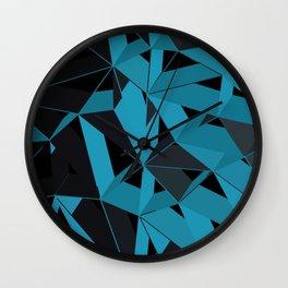 3D Futuristic GEO BG II Wall Clock