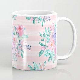 Beautiful watercolor garden floral paint Coffee Mug