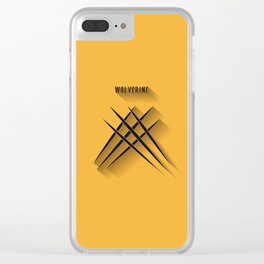 Wolverinew Clear iPhone Case