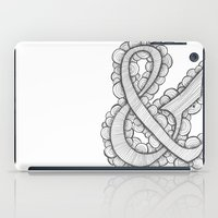 ampersand iPad Cases featuring Ampersand by Laura Maxwell