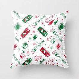 Evergleam Pattern Throw Pillow