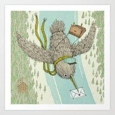 'Telegram' Art Print