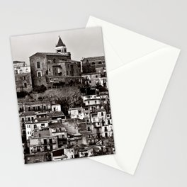 Sicilian Mountain Village Stationery Cards