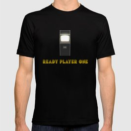 'Ready Player One' - Film Poster (Scratches/Vintage) T-shirt