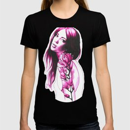 Pink magnolia T-shirt