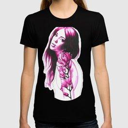 Flower tattoos: Pink magnolia T-shirt