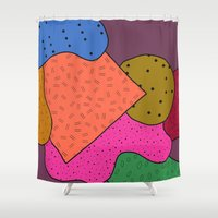 mad Shower Curtains featuring Went Mad by Tyler Spangler