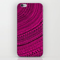 Hot Pink Pulse o4. iPhone & iPod Skin