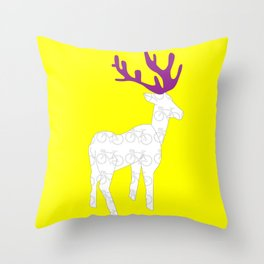 Ride with me 2 Throw Pillow