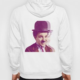 Charles Chaplin Low Poly Collection Hoody