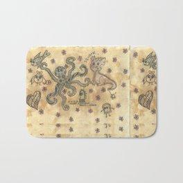 Silly Octopus Bath Mat