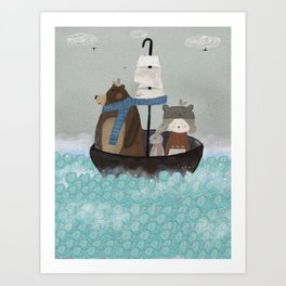 paddington pond Art Print