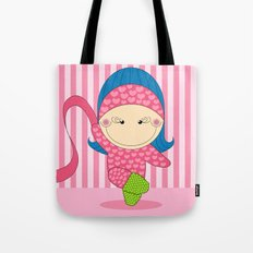 Ballerina -- Fun, sweet, unique, creative and very colorful, original,digital children illustration Tote Bag