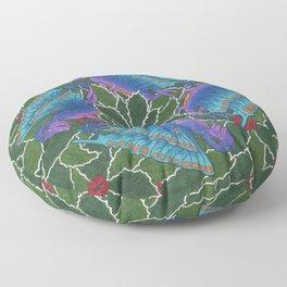 Dragondala Winter Floor Pillow