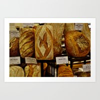 bread Art Prints featuring Bread by Chris Klemens
