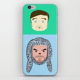 Wilfred & Ryan iPhone Skin