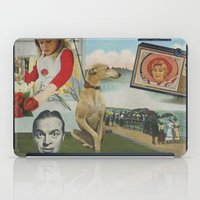 postcard iPad Cases featuring Postcard #19 by Jon Duci