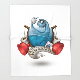 WCsaur Throw Blanket