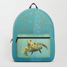 Inspirational Sea Turtle Backpack