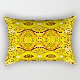 Yellow Cana Rectangular Pillow