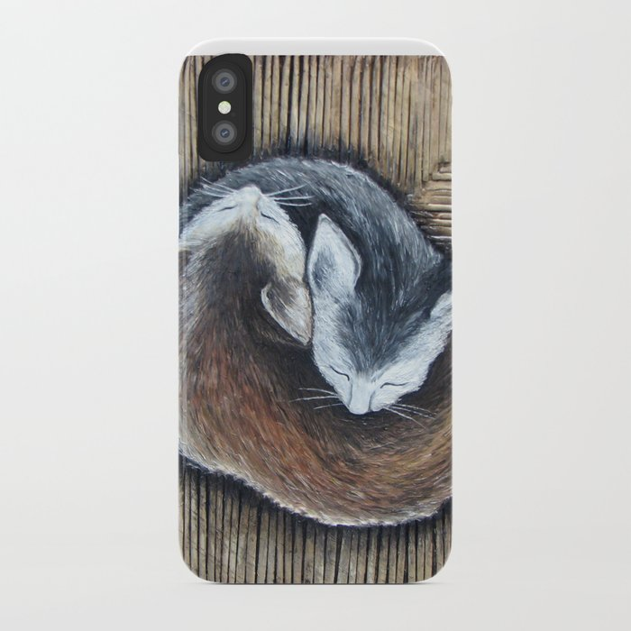 Cats rest iPhone Case