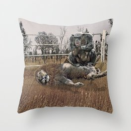 The Undefeated Chump Throw Pillow