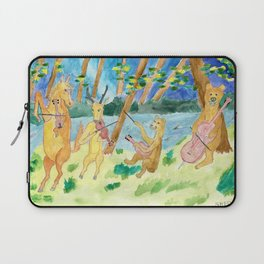 Quartet of Animals Laptop Sleeve